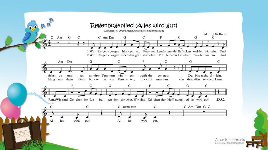 Regenbogenlied (Alles wird gut) - Jules Kindermusik